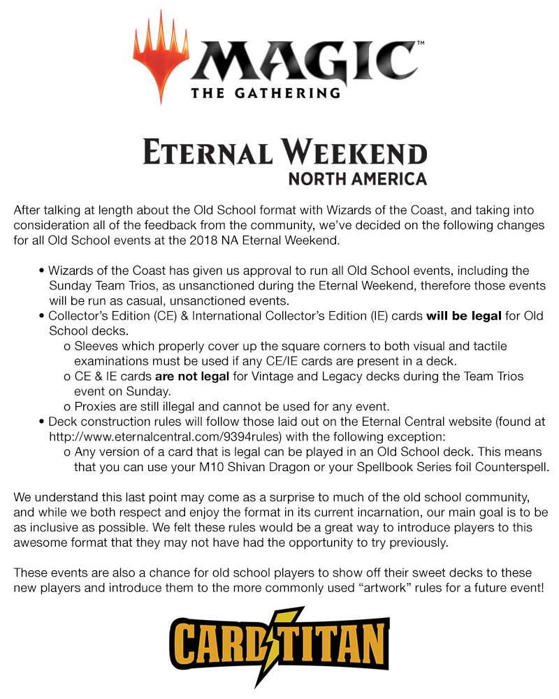 Card Titan Mtg Cards And Accessories Eternal Weekend